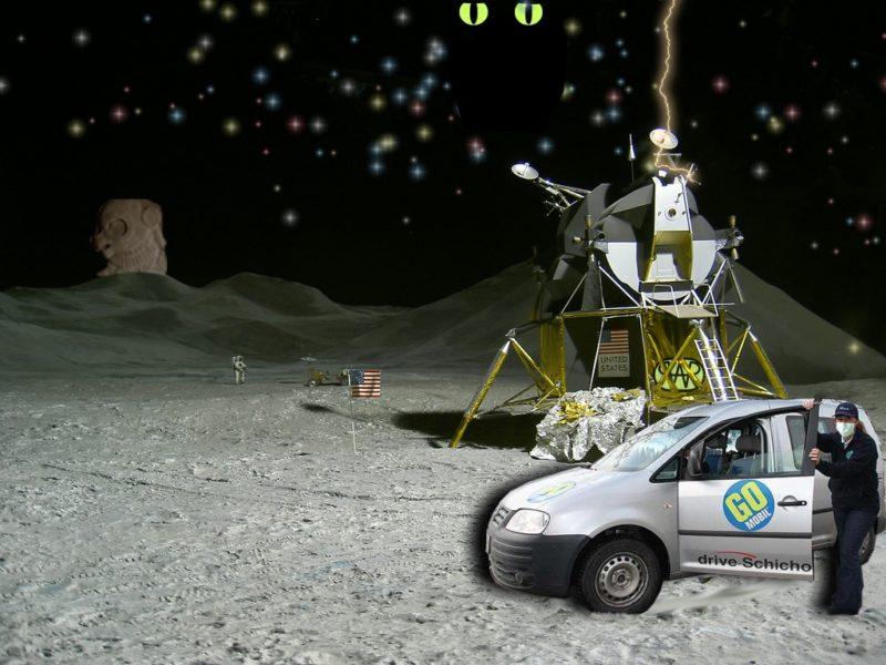 GO-MOBIL im Weltall