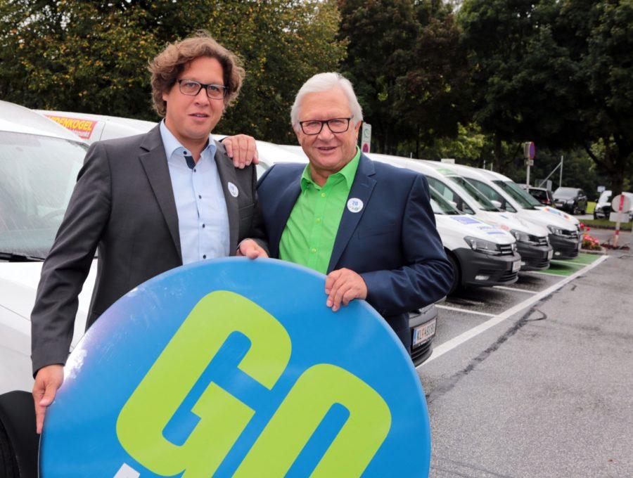 Dipl.-Ing. Manuel Goritschnig und Maximilian Goritschnig.