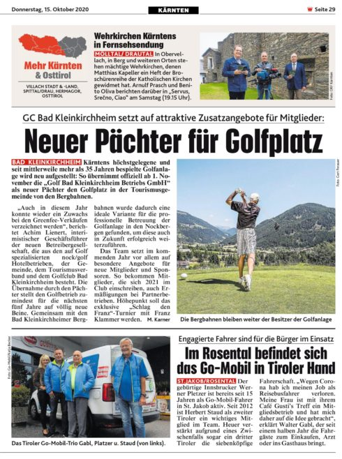 Tiroler Fahrer St. Jakob